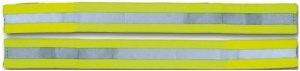 4-Act Arm / Wrist Band Reflective Neongelb 40cm