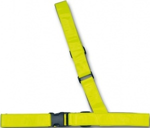 4-Act Safety Sash Reflecting Yellow 42-58 / 88-130