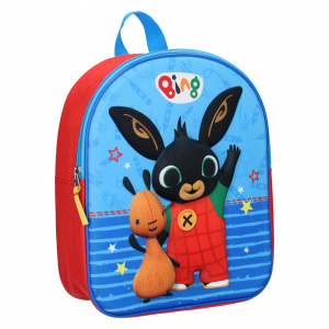 Bing backpack Hello There25 x 31 cm polyester blue/red