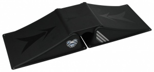 Black Dragon Funbox Ramp Set 2+1 Zwart