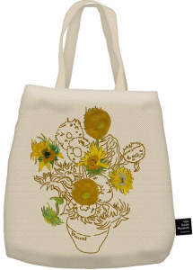 Blueprint Collections Ltd canvas bag Vincent van Gogh 40 x 37 cm