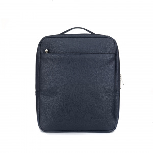 Bombata laptop backpack Paris 32 x 38 cm artificial leather dark blue