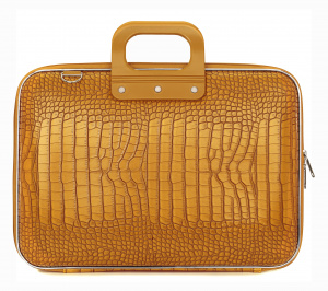 Bombata sac pour ordinateur portable Cocco 43 x 33 cm cuir artificiel orange