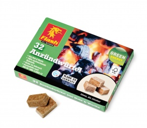 Boomex firelighters on wood/wash basis 32 pieces