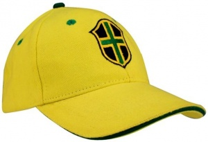 Brazilië Baseball Cap World Triumph Junior Geel