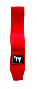 Bruce Lee boxing straps 450 cm red per 2 pieces