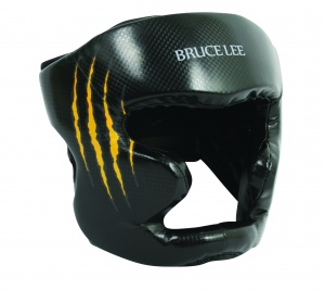 Bruce Lee headguard Signatureblack/yellow