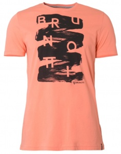 Brunotti T-Shirt Albertsmen's short sleeve salmon pink