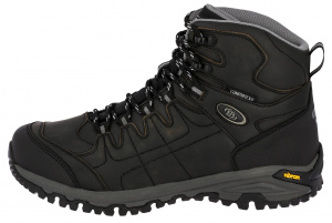 Brütting hiking boot Blackburn High leather black/grey