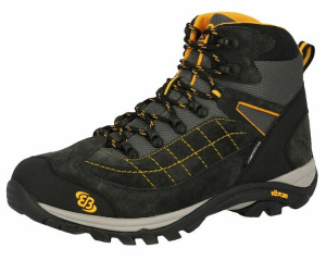 Brütting hiking boot Mount Crillon mens suède anthracite