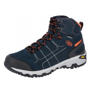 Brütting hiking boot Mount Shasta synthetic blue/orange