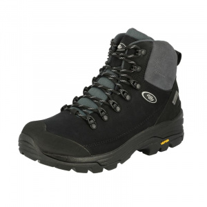 Brütting hiking boot Mount Tanaga nubuck leather black/grey