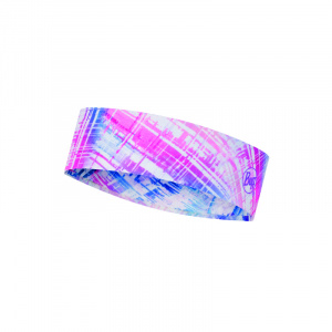 Buff headband Coolnet polyester pink one size