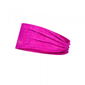 Buff headband Tapered polyester pink one size