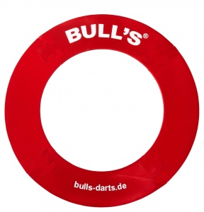 Bull´s dartbordring Quarterback Surround rood 18