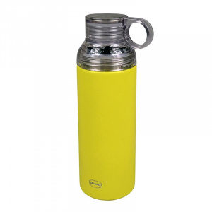 Cabanaz thermosfles Flask 0,6 liter RVS geel