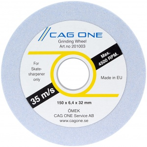 CAG One slijpwiel 150 mm medium blauw