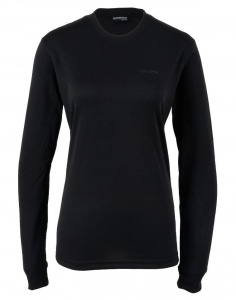 Campri Thermoshirt Thermal Top  Damen schwarz