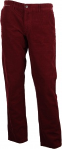 Carhartt broek Johnson Pant Cranberry Garment Dyed rood heren