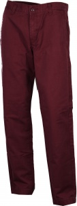 Carhartt broek Prime Pant Wine Mill Washed rood heren