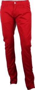 Carhartt broek Rebel Pant Blast Red Rinsed rood heren