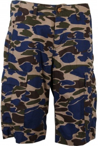 Carhartt korte broek Regular Cargo Short Camo Rinsed