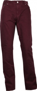 Carhartt broek Ziggy Pant Wine Mill Washed rood heren