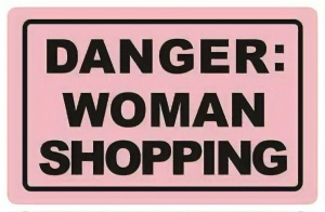 Chic.Mic anti-skimpas 'danger: woman shopping'