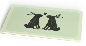 Chic.Mic breakfast board Bunny Love 23,5 x 14,5 cm