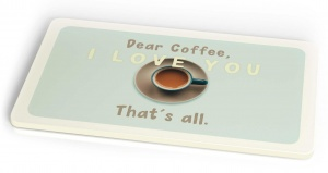 Chic.Mic breakfast board Coffee 23,5 x 14,5 cm