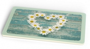 Chic.Mic breakfast board Daisy Heart 23,5 x 14,5 cm