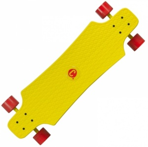 Choke Longboard Lars Juicy Susi junior 76 x 22 cm geel