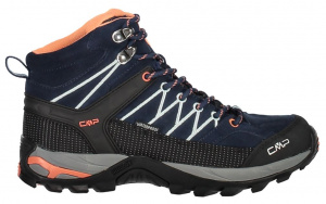 CMP hiking boots Rigel Mid ladies blue/black/orange