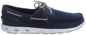 Columbia lace-up shoes BoneHead Vent PFG navy / gray men