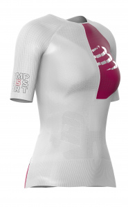 Compressport shirt postural aero dames polyamide wit