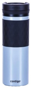 Contigo drinkfles Twistseal Glaze 470 ml zilver