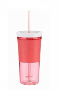 Contigo Shake And Go 540ml Drinkbeker Rood