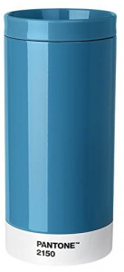 Copenhagen Design thermosbeker To Go Pantone 430 ml RVS blauw