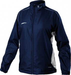 Craft windjack T&F dames donkerblauw