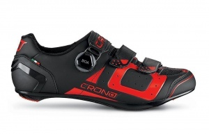 Crono CR3 cycling shoes black/red men's