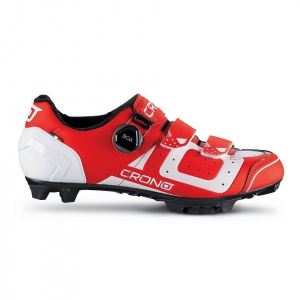 Crono CX3 cycling shoes men's red