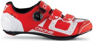 Crono cycling shoes CR3 Carbon men's red/white