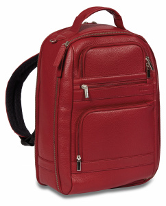 Dal Negro backpack 28 x 40 x 18 cm leather red