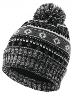 Dare 2B muts Dauntless II Beanie heren acryl zwart/wit one-size