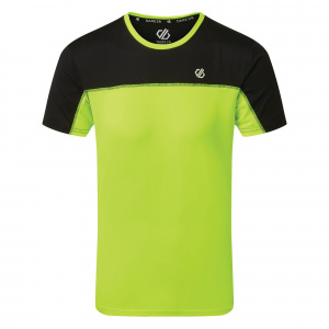 Dare 2B sportshirt Notable heren polyester geel/zwart