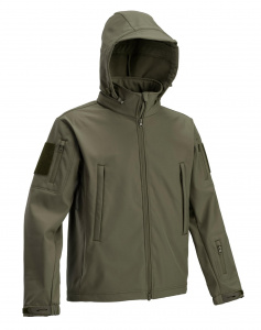 Defcon 5 outdoor-Jacke Tactical mens polyester dunkelgrün