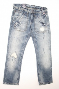 Dept Aquarius Worker 3/4 Dames Jeans