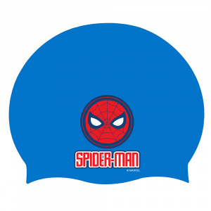 Marvel bathing cap Spiderman junior blue one-size