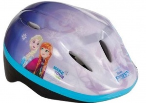 Disney kinderhelm Frozen Magic paars/blauw 52/56