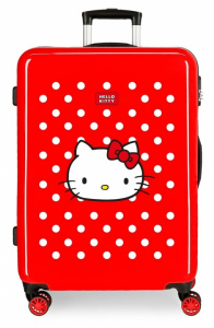 Disney children's suitcase Hello Kitty 70 litres ABS 68 cm red